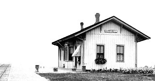 Topinabee Public Library Located in Historic 1882 Depot